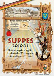 SUPPES 2010/11, Bewertungskatalog für Historische Wertpapiere Deutschland nach 1945, ISBN 9783981398908