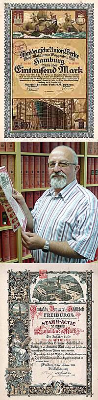 Vladimir Gutowski in seinem Büro